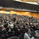 Un'immagine della platea del Teatro del Maggio Musicale Fiorentino al completo durante la serata del Rotary