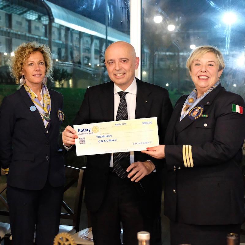 da sin. Stefania Sernacchioli, Sandro Addario e Valeria Tagliacollo