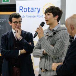 Massimo Sestini (a sin.) e Alan Formentini