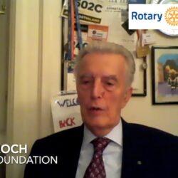 Giulio Koch è Coordinatore regionale della Rotary Foundation per Italia Spagna e Portogallo