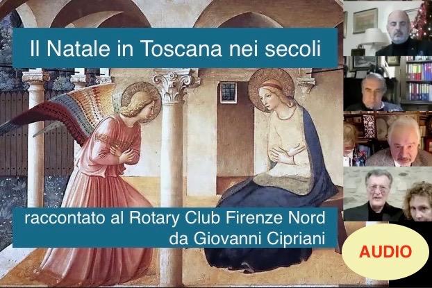 Intervento online del professor Giovanni Cipriani al Rotary Firenze Nord