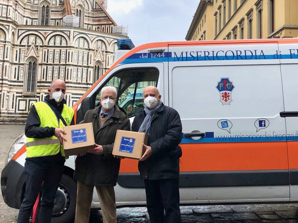 Rotary Firenze Nord e Misericordia di Firenze
